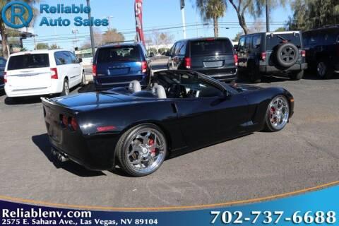 2005 Chevrolet Corvette for sale at Reliable Auto Sales in Las Vegas NV