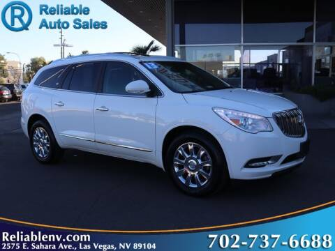 2013 Buick Enclave for sale at Reliable Auto Sales in Las Vegas NV