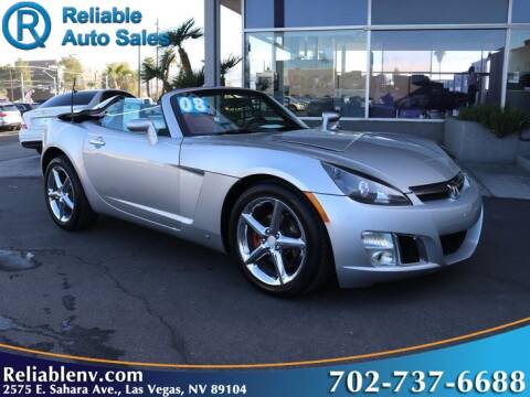 2008 Saturn SKY for sale at Reliable Auto Sales in Las Vegas NV