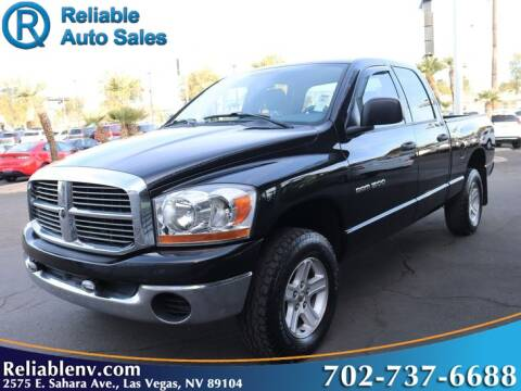 2006 Dodge Ram Pickup 1500 for sale at Reliable Auto Sales in Las Vegas NV