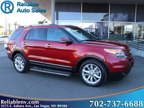 2013 Ford Explorer for sale at Reliable Auto Sales in Las Vegas NV