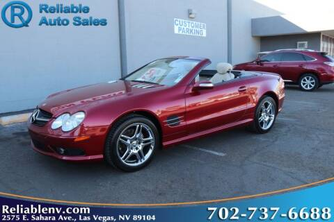 2006 Mercedes-Benz SL-Class for sale at Reliable Auto Sales in Las Vegas NV