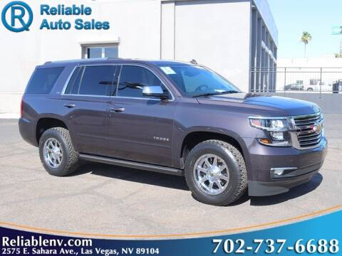 2015 Chevrolet Tahoe for sale at Reliable Auto Sales in Las Vegas NV