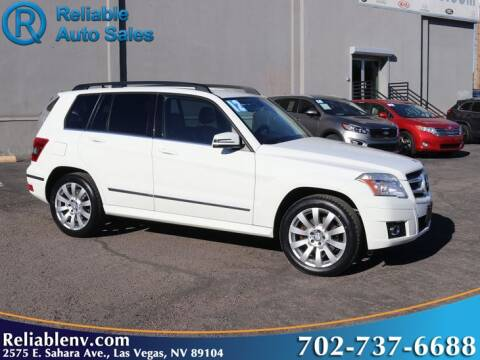 2012 Mercedes-Benz GLK for sale at Reliable Auto Sales in Las Vegas NV