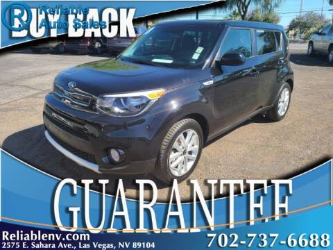 2018 Kia Soul + for sale at Reliable Auto Sales in Las Vegas NV
