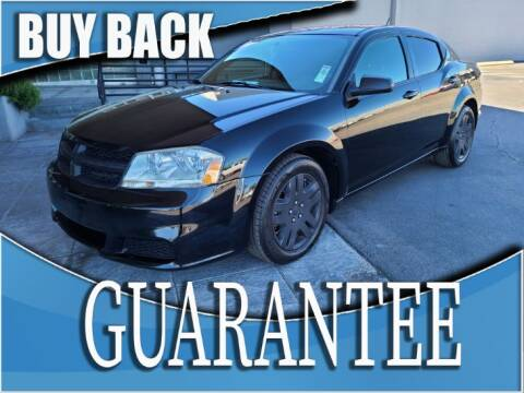 2014 Dodge Avenger SE for sale at Reliable Auto Sales in Las Vegas NV