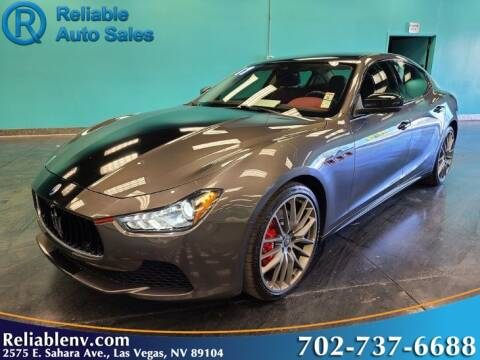 2017 Maserati Ghibli S for sale at Reliable Auto Sales in Las Vegas NV