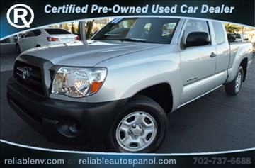 2007 Toyota Tacoma for sale in Las Vegas, NV