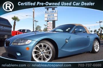 2005 BMW Z4 for sale in Las Vegas, NV