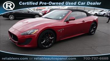 2013 Maserati GranTurismo for sale in Las Vegas, NV