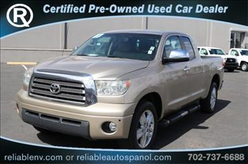 2007 Toyota Tundra for sale in Las Vegas, NV