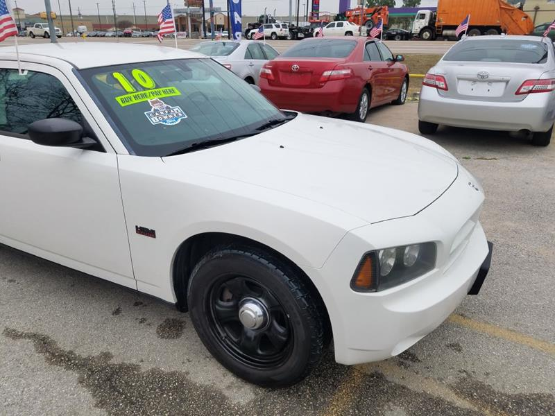 2010 Dodge Charger Police In Houston Tx Car Solutions