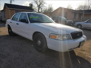 2010 Ford Crown Victoria for sale in Houston, TX