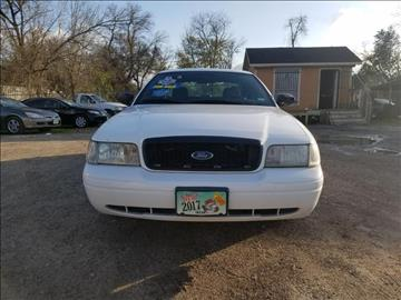 2009 Ford Crown Victoria for sale in Houston, TX