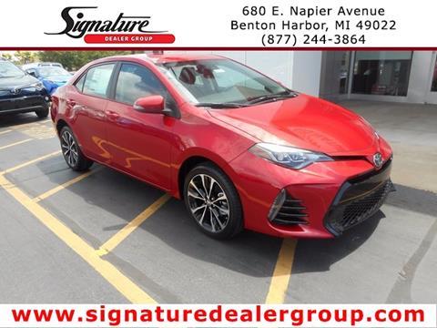 2017 Toyota Corolla for sale in Benton Harbor, MI
