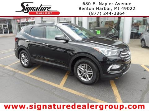 2018 Hyundai Santa Fe Sport for sale in Benton Harbor, MI
