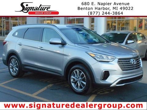 2018 Hyundai Santa Fe for sale in Benton Harbor, MI