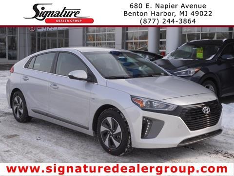 2018 Hyundai Ioniq Hybrid for sale in Benton Harbor, MI