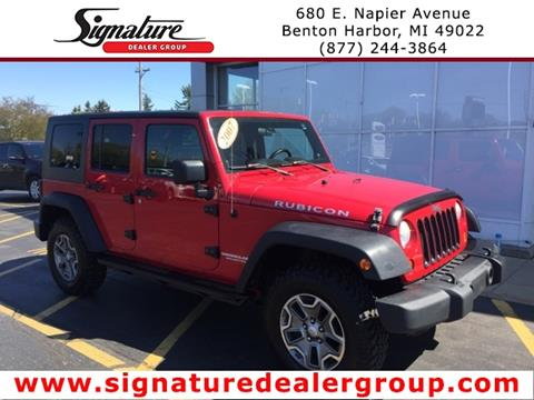 2007 Jeep Wrangler Unlimited for sale in Benton Harbor, MI