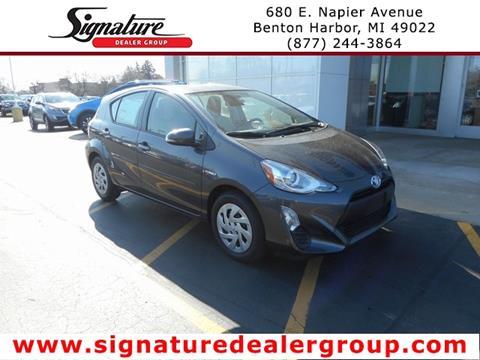 2016 Toyota Prius c for sale in Benton Harbor, MI