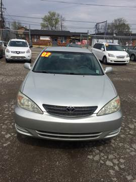2002 Toyota Camry for sale in Louisville, KY
