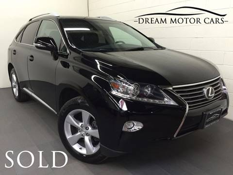2015 Lexus RX 350 for sale at Dream Motor Cars in Arlington Heights IL