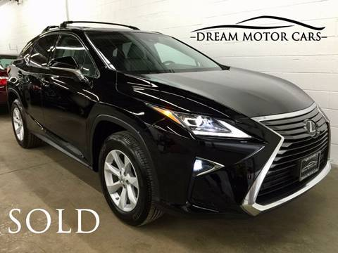 2016 Lexus RX 350 for sale at Dream Motor Cars in Arlington Heights IL