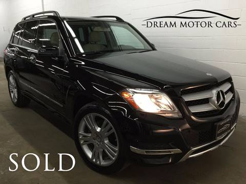 2014 Mercedes-Benz GLK for sale at Dream Motor Cars in Arlington Heights IL