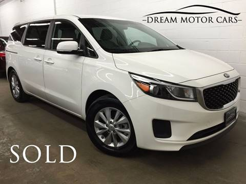 2017 Kia Sedona for sale at Dream Motor Cars in Arlington Heights IL