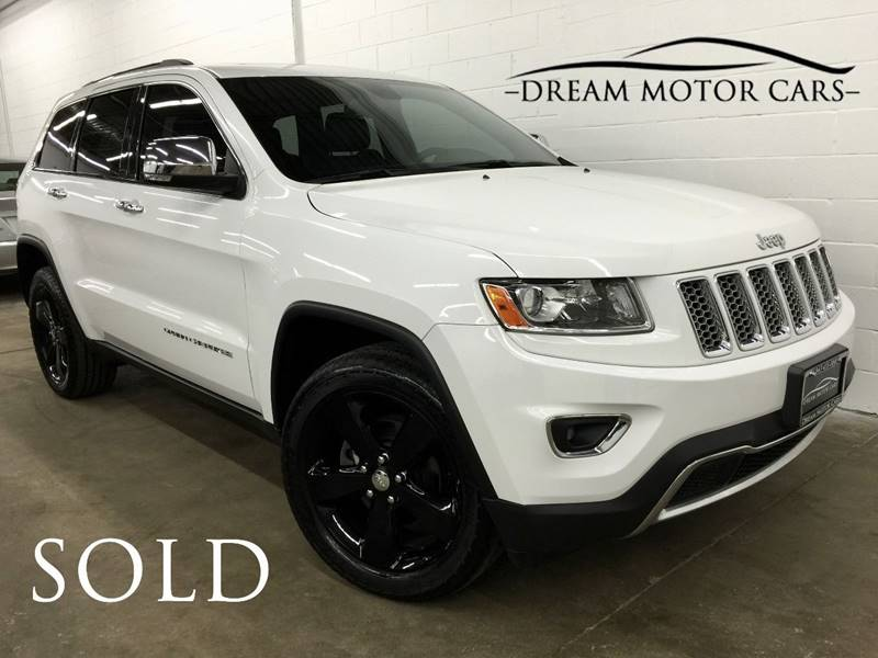 2014 Jeep Grand Cherokee Limited In Arlington Heights IL - Dream ...