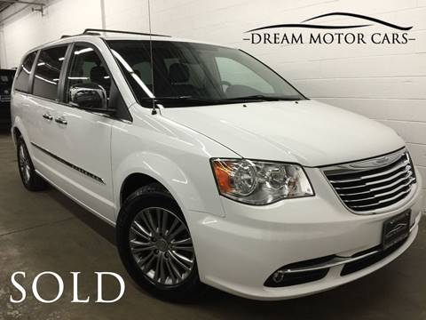 2014 Chrysler Town and Country for sale at Dream Motor Cars in Arlington Heights IL