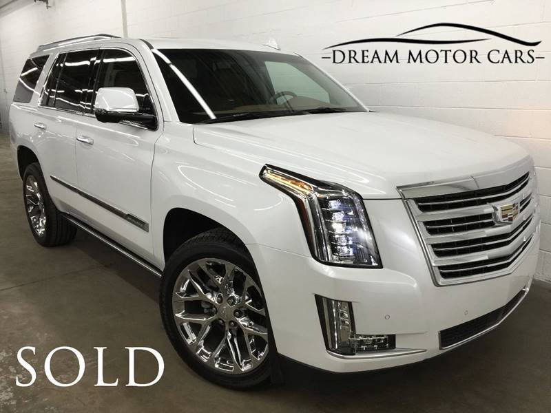 2016 Cadillac Escalade for sale at Dream Motor Cars in Arlington Heights IL