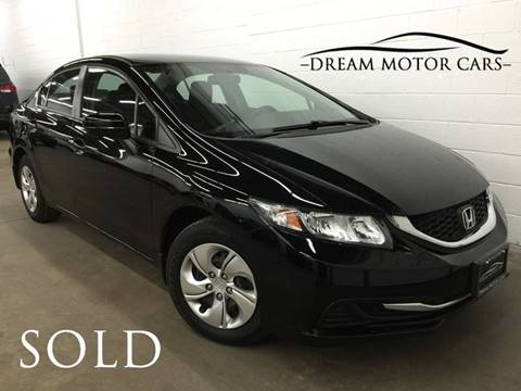 2014 Honda Civic for sale at Dream Motor Cars in Arlington Heights IL