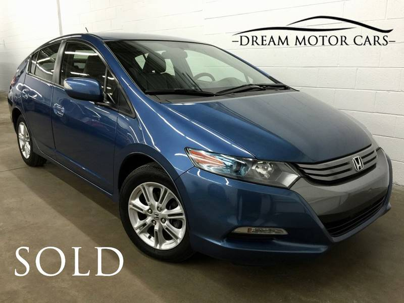 2010 Honda Insight For Sale At Dream Motor Cars In Arlington Heights IL