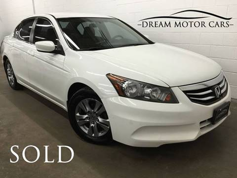 2012 Honda Accord for sale at Dream Motor Cars in Arlington Heights IL
