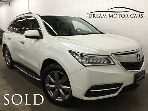 2015 Acura MDX for sale at Dream Motor Cars in Arlington Heights IL
