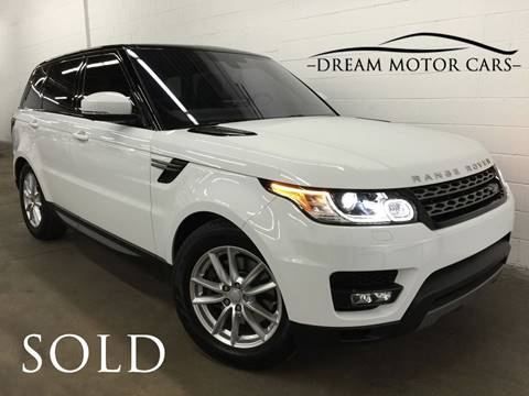 2016 Land Rover Range Rover Sport for sale at Dream Motor Cars in Arlington Heights IL