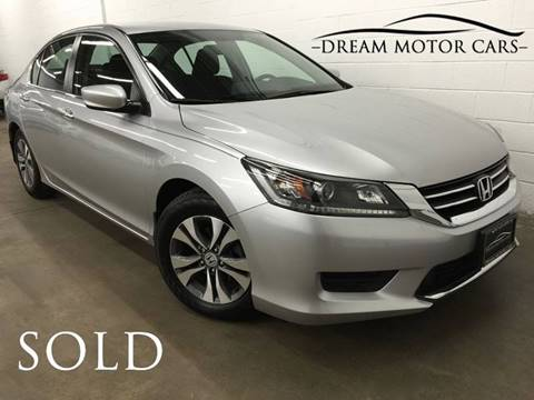 2015 Honda Accord for sale at Dream Motor Cars in Arlington Heights IL