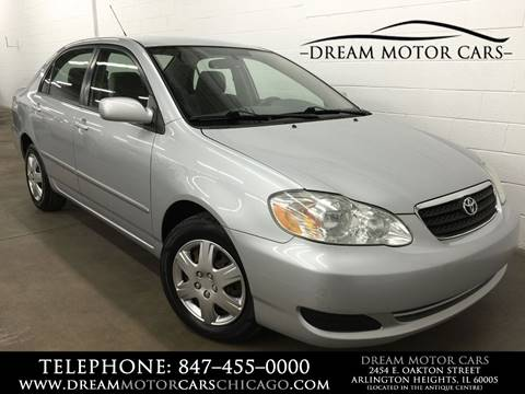 2007 Toyota Corolla for sale at Dream Motor Cars in Arlington Heights IL