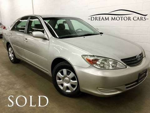 2004 Toyota Camry for sale at Dream Motor Cars in Arlington Heights IL