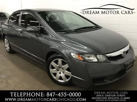 2011 Honda Civic for sale at Dream Motor Cars in Arlington Heights IL
