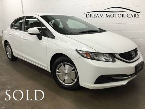 2013 Honda Civic for sale at Dream Motor Cars in Arlington Heights IL