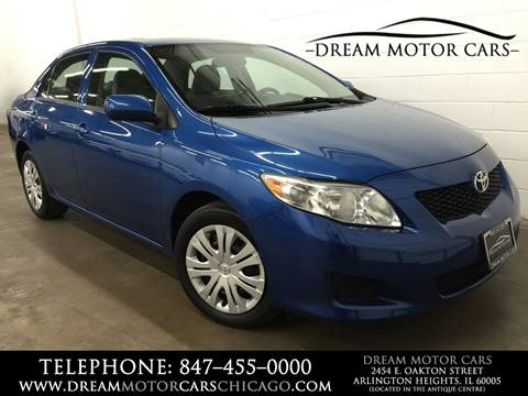 2010 Toyota Corolla for sale at Dream Motor Cars in Arlington Heights IL