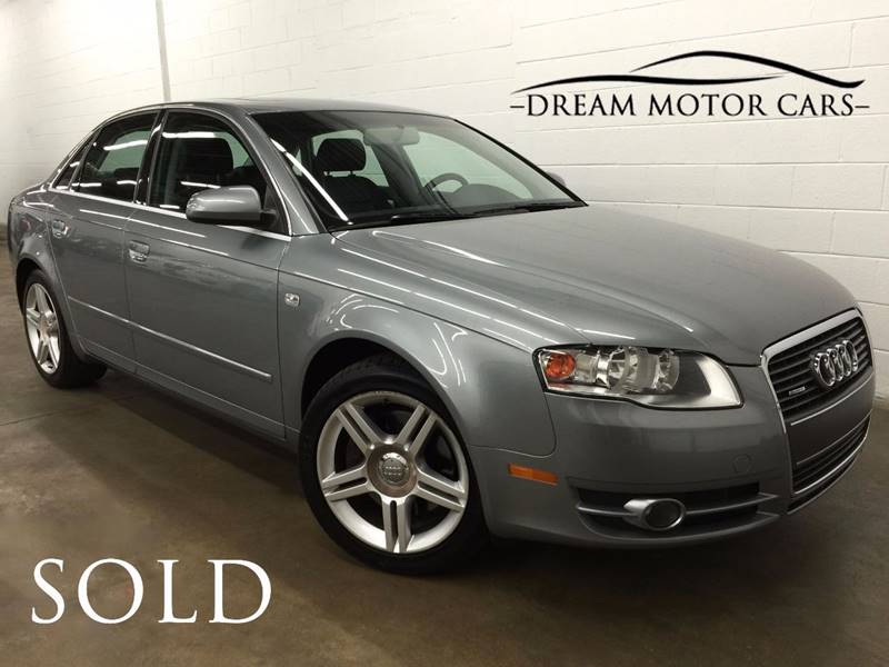 2007 Audi A4 for sale at Dream Motor Cars in Arlington Heights IL