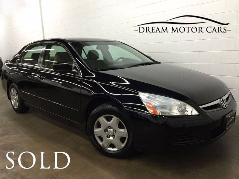 2006 Honda Accord For Sale At Dream Motor Cars In Arlington Heights IL