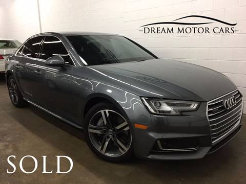 2017 Audi A4 for sale at Dream Motor Cars in Arlington Heights IL