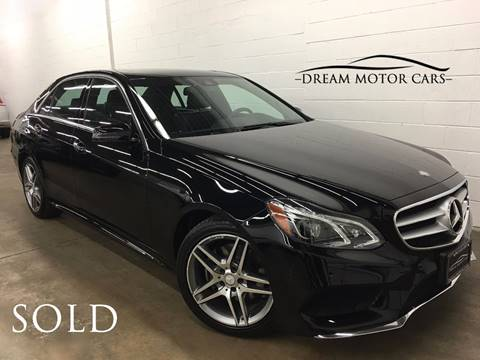 2016 Mercedes-Benz E-Class for sale at Dream Motor Cars in Arlington Heights IL