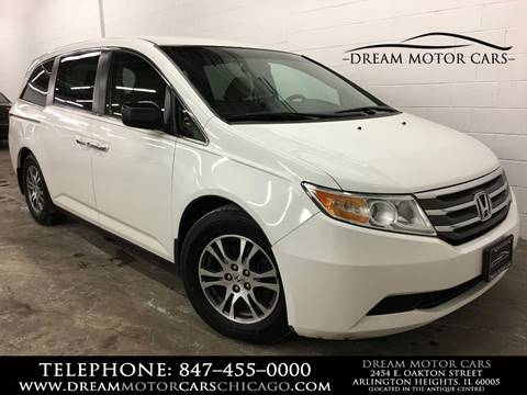 2012 Honda Odyssey for sale at Dream Motor Cars in Arlington Heights IL