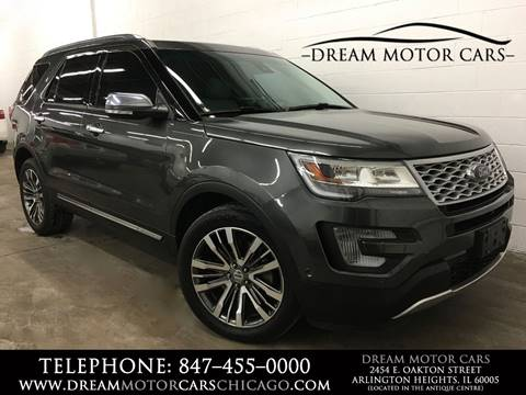 2016 Ford Explorer for sale at Dream Motor Cars in Arlington Heights IL