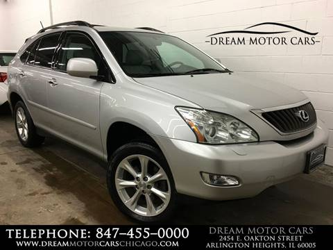 2009 Lexus RX 350 for sale at Dream Motor Cars in Arlington Heights IL